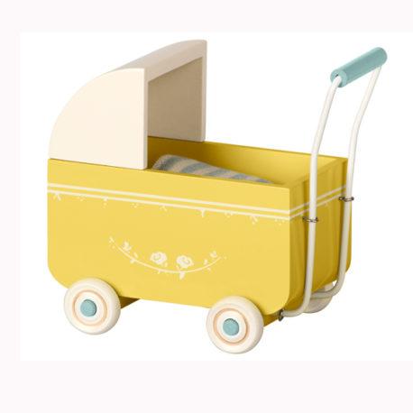 landau maileg baby jaune MY