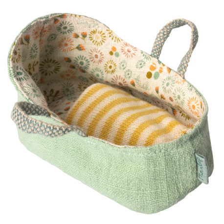 couffin maileg mint carrycot MY