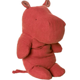 hippo maileg rouge 30 cm safari friends