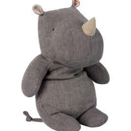 rhino maileg 30 cm gris