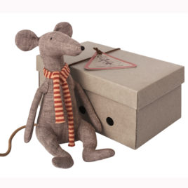 cool rat maileg gris cool rat maileg grey
