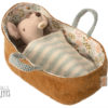 bébé souris maileg couffin baby mouse in carrycot maileg