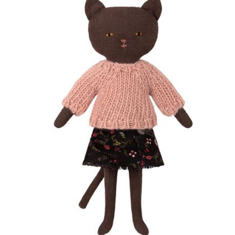 chat maileg chaton noir black