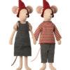 christmas mouse medium fille et garçon souris maileg