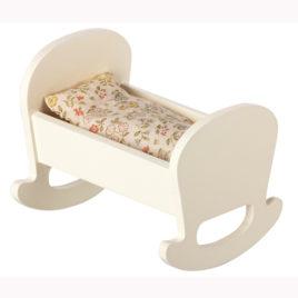 lit à bascule maileg MY cradle baby mouse