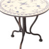 table de bistrot maileg micro table ronde pour le the