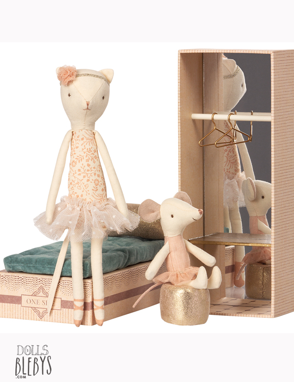 Ballerines chat souris maileg bo te dancing avec accessoires - Petite souris qui danse ...