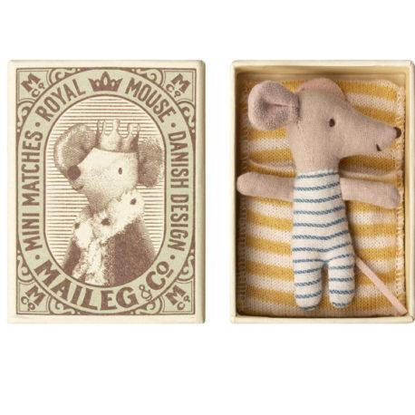 bébé souris maileg avec boîte