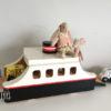 maileg ferry bois sur roues wooden ferry maileg