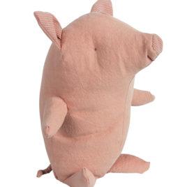 cochon maileg truffe rose debout
