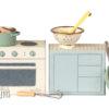 cooking set maileg cuisinière maileg set de cuisine
