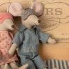 couple souris maileg avec masques