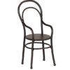 fauteuil maileg noir metal chaise avec accoudoirs maileg