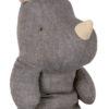 rhino maileg bleu gris safari friends medium