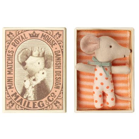souris maileg bébé fille baby mouse girl