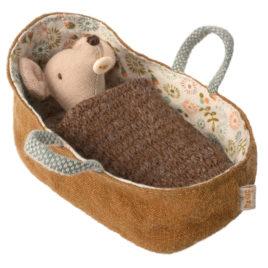 bebe souris couffin maileg 16971300