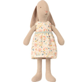 Bunny Maileg taille 1 – robe fleurie – LAPIN 22 cm