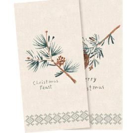 lot Serviettes MAILEG Joyeux Noël – en papier