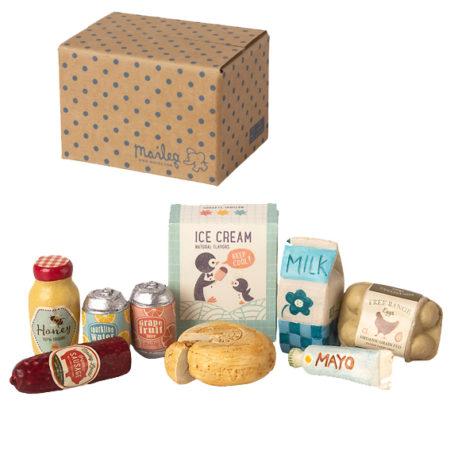 boite épicerie maileg 11-1301-00 miniature grocery box B