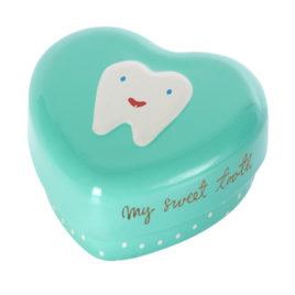 boite à dents maileg vert deau