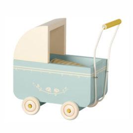 LANDAU Maileg bleu en bois – Micro / Small 16 cm