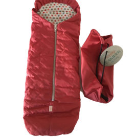 Sac de couchage Maileg Best Friends rouge 38 cm