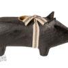 14-9801-01 cochon bougeoir maileg noir medium