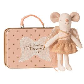 16-9722-01 souris ange gardien maileg avec valise
