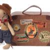 16-9723-01 souris cowboy maileg avec valise