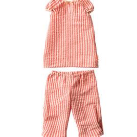 pyjama maileg rose taille 4 fille rabbits bunnies