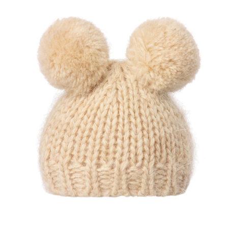 bonnet maileg creme best friends lapins souris 30 35 cm