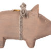 bougeoir maileg cochon pig small gris