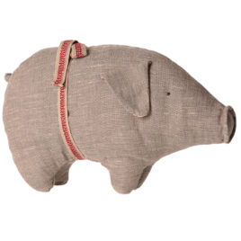 cochon maileg gris small