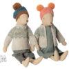 couple souris maileg hiver boy girl medium winter mouse