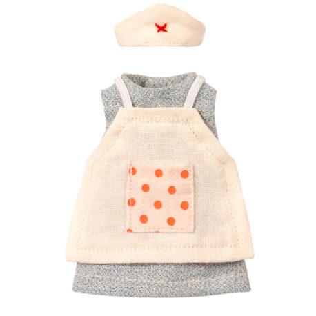 habit nurse maileg souris infirmiere nurse clothes for mouse 15 cm