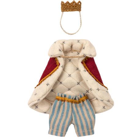 habit roi maileg souris king clothes for mouse