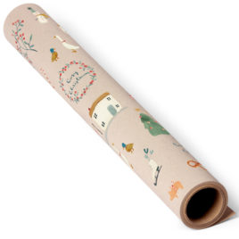 maileg rouleau papier Cosy Christmas 10 m gifwrap
