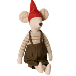 souris maileg maxi christmas boy 14-9741-00