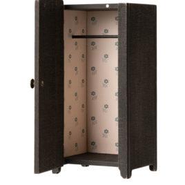 11-9000-00 vintage maileg armoire penderie anthracite en bois
