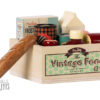 11-9304-00 vintage food maileg grocery box