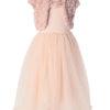 bolero et robe maileg 4 - 6 ans rose