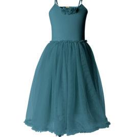 robe ballerine maileg petrol 6 - 8 ans