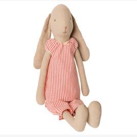 Bunny Maileg taille 4 – pyjama rayé – LAPIN 53 cm