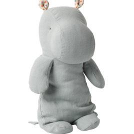 HIPPO Maileg Bleu Gris – S. friends – Medium 30 cm