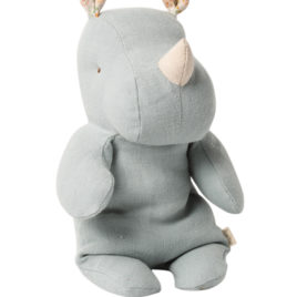 RHINO Maileg Bleu Gris – Small – S. friends – 22 cm