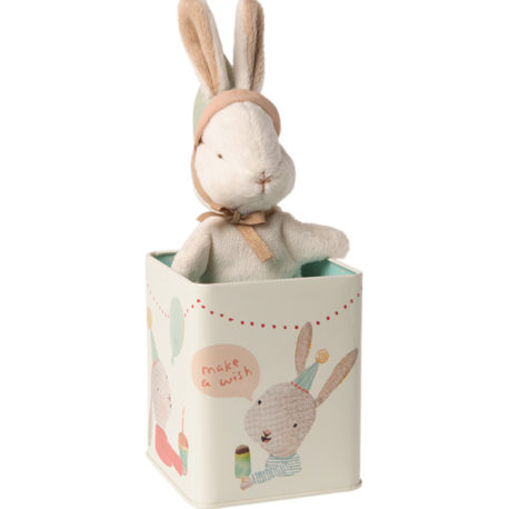 lapin maileg bunny happy day avec boite 16099301
