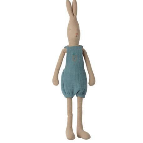 rabbit maileg lapin T3 salopette bleue 16032000 size 3 overalls