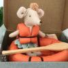 bateau maileg miss souris pagaie
