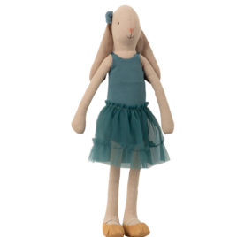 Ballerine Bunny Maileg – T3 – Petrol – Lapin 42 cm