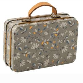 valise maileg merle foncé métal